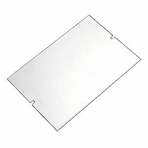 Block Cover,8.37 in W,5.31 in H,Plastic