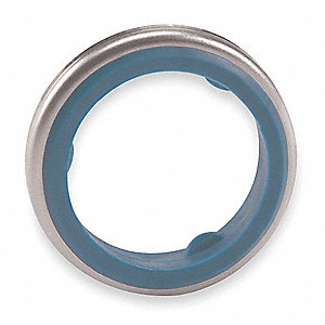 GASKET,STAINLESS STEEL + RUBBER,3/8