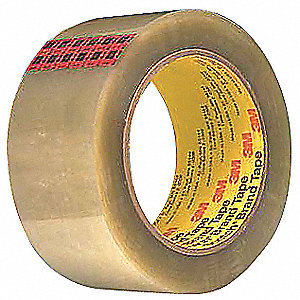 Polyester Carton Sealing Tape, Hot Melt Resin Adhesive, 48mm X 50m, 36 PK