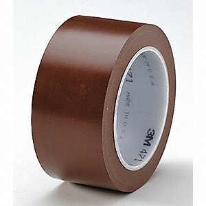 "Floor Marking Tape, Striped, Roll, 2"" x 108 ft., 24 PK"