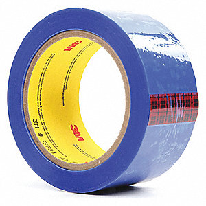"Non-Slivering Polyester Film Tape, 2"" Width, 72 yd. Length, 2.6 mil Thickness"