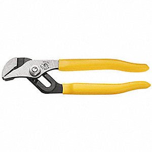 Water Pump Pliers, Straight Jaw Type, Groove Joint Adjustment Type, Dipped Handle Type
