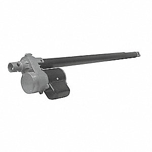 "Linear Actuator, 660 lb. Rated Load, 24"" Stroke Length, 9 in./min. Speed @ Rated Load"