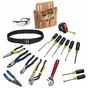 General Hand Tool Kit, Number of Pieces:  18, Application:  Journeyman