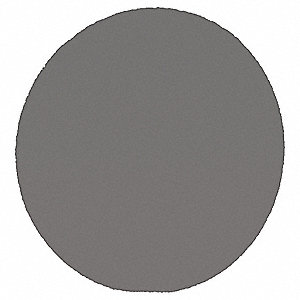 "8"" PSA Sanding Disc, 120 Grit, Fine, Coated, No Hole, Silicon Carbide , 431Q, PK500"