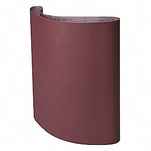 "Sanding Belt, 60"" Length, 37"" Width, Aluminum Oxide, 60 Grit, Medium, Coated, 340D, EA1"
