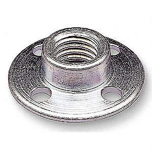 Disc Retainer Nut,5/8In,5/8-11,PK10