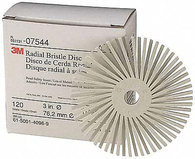 Abrasive Radial Bristle Discs