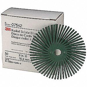 DISC RADIAL BRISTLE ROLOC GR50 3IN