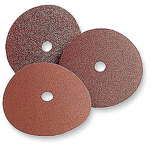 "3"" Quick Change Disc, Zirconia Alumina, TR, 36 Grit, Extra Coarse, Coated, 501C, PK200"