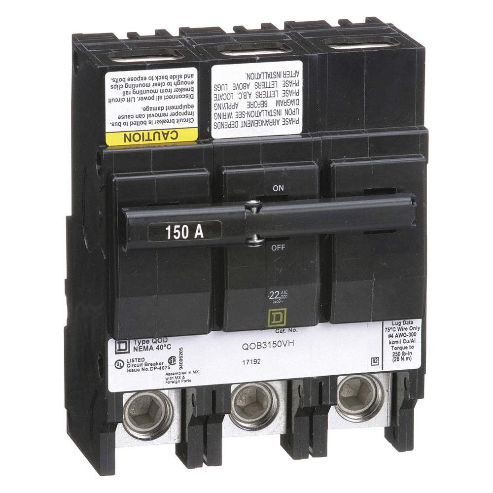 Square D Bolt On Circuit Breaker 150 Amps Number Of Poles 3 Off Main Breakers Video How To Turn Zoom Out Reset Put Photo At Full Then Double Click