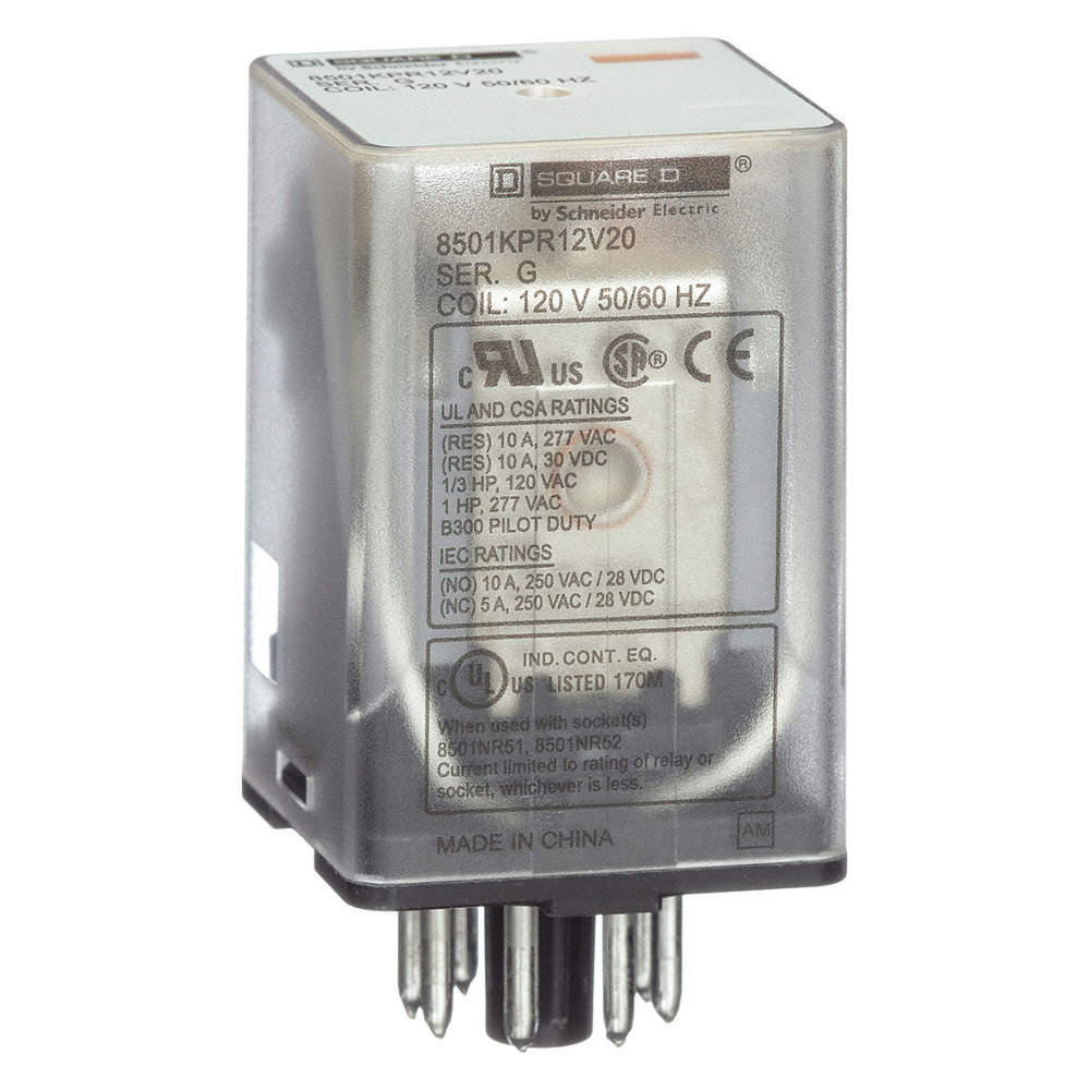 Square D 120vac Coil Volts General Purpose Relay 10a 277vac 5 Pin Universal 12 Volt Zoom Out Reset Put Photo At Full Then Double Click