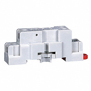 Relay Socket, Socket Type: Standard, Socket Style: Square, Number of Pins: 5