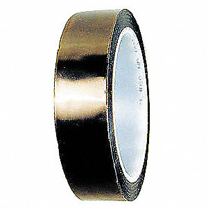 "Translucent PTFE Electrical Tape, 3/8"" Width, 108 ft. Length, 5.00 mil Thickness"