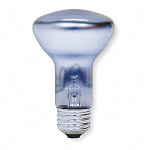 45 Watts Incandescent Lamp, R20, Medium Screw (E26), 250 Lumens, 2800K Bulb Color Temp.