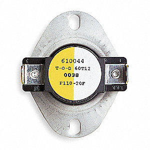 White Rodgers Snap Disc Control Fan Switch Closes F