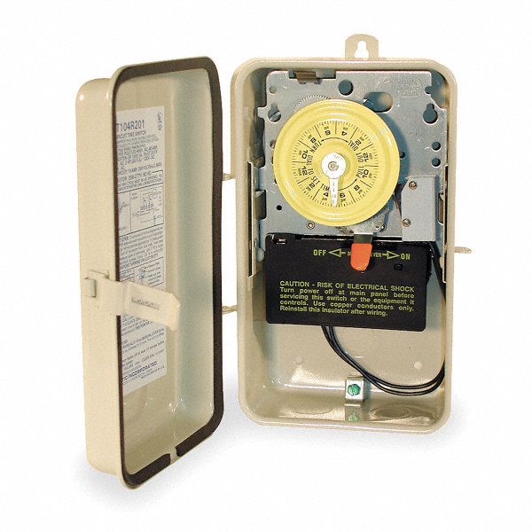 Intermatic Electromechanical Water Heater Timer 208 To