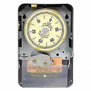 Cycle Timer, 120VAC Input Voltage, 20 Amps, 30 sec. Min. Time Setting