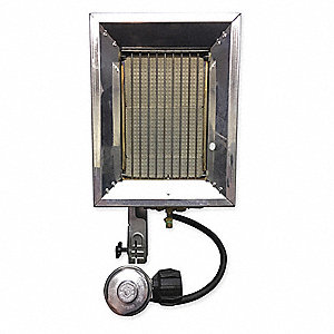 "4-1/2"" x 10-1/6"" x 13-1/8"" Tank Top Portable Gas Heater with 40 to 400 sq. ft. Heating Area"