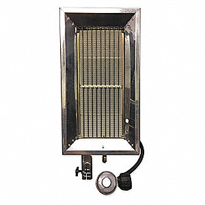 "4-1/2"" x 10-1/6"" x 18-5/8"" Tank Top Portable Gas Heater with 50 to 500 sq. ft. Heating Area"