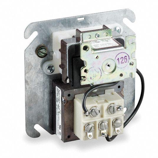 WHITE-RODGERS Transformer Relay, 4X4 Junction Box Mount, 24 Coil Volts,  SPDT, 3/4 hp HP - 2E852|90-113 - Grainger | White Rodgers Transformer Wiring Diagram |  | Grainger