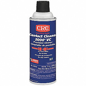 13 oz. Non-Flammable Contact Cleaner, 1 EA