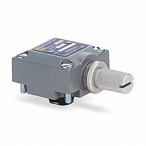 Limit Switch Head, CW and CCW, Actuator Location: Side, NEMA Rating: 4, 6P, 13