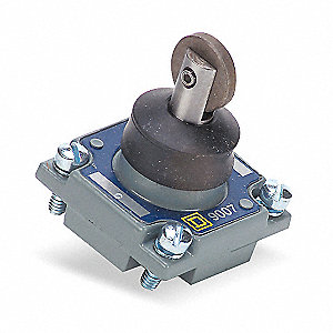 Limit Switch Head,Rllr Plngr,Top,1.24 In
