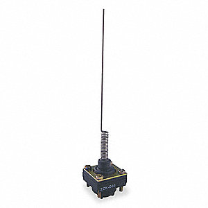 Limit Switch Head, Omnidirectional, Actuator Location: Top, NEMA Rating: 1, 2, 3, 4, 12