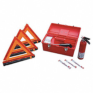 Roadside Emergency Kit,8 Piece