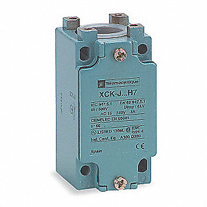 2NO/2NC Screw Terminal Limit Switch Body, AC Contact Rating: 10A @ 240VAC