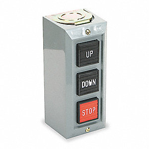 Push Button Control Station,Up/Down/Stop