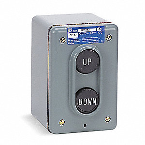 Push Button Control Station,2NO,Up/Down