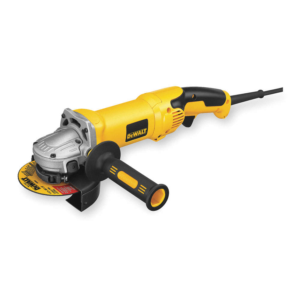 Milwaukee Small Angle Grinder 4-1//2 in 7-Amp Corded Sliding Lock-On Switch