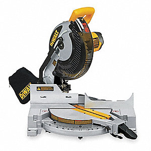 "10"" Compound Miter Saw, Single Bevel, 5000 No Load RPM, 15.0 Amps"