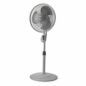 3-Speeds 120V Residential Oscillating Pedestal Fans