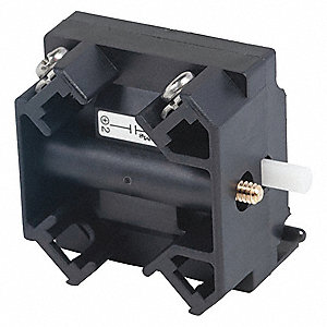 Contact Block, 30mm, 1NO Contact Form, 0.5A @ 120VAC Contact Rating