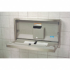 BABY CHANGING STATION,HORIZONTAL, S