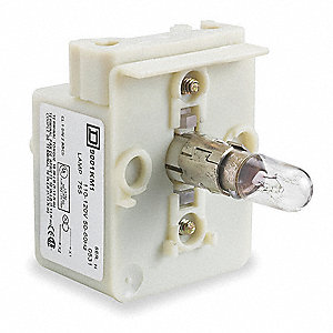 Lamp Module,30mm,24-28VAC/VDC,Clr,Incan