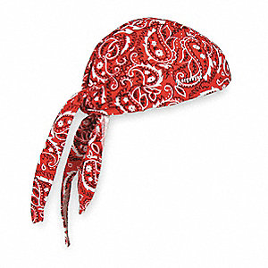 Dew Rag,Red,Universal