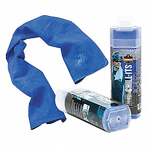 Cooling Towel, Advanced PVA, Blue, 13 x 29""