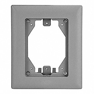 Hubbell Wiring Device Kellems Rectangular Pvc Floor Box