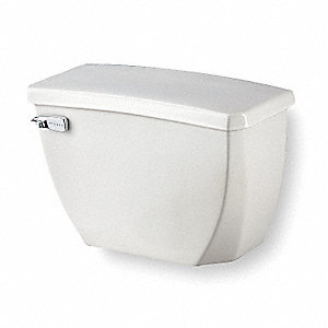 Ultra Flush 1.1 gpf Toilet Tank, Left Hand Trip Lever, White