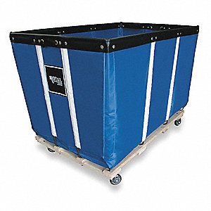 Heavy Duty Basket Truck,24 Bu,Blue Vinyl