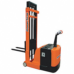 "Counterweight Base Stacker, 1100 lb., Fork Width 4"", Fork Length 30"", Lifting Height Max. 62"""