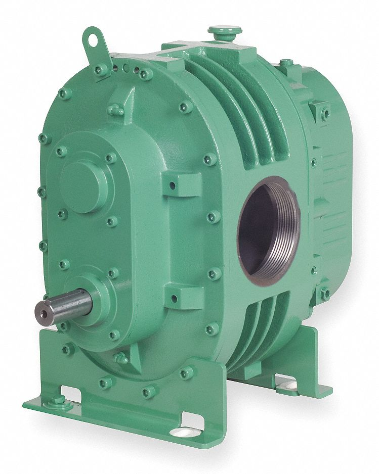 Positive Displacement Blower/Vacuum Pump; Inlet Dia.: 2.5 in (F)NPT, Outlet Dia.: 2.5 in (F)NPT