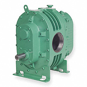 "Positive Displacement Blower/Vacuum Pump; Inlet Dia.: 4"" (F)NPT, Outlet Dia.: 4"" (F)NPT"