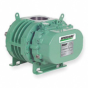 "Positive Displacement Blower/Vacuum Pump&#x3b; Inlet Dia.: 3"" (F)NPT, Outlet Dia.: 3"" (F)NPT"