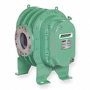 "Positive Displacement Blower/Vacuum Pump; Inlet Dia.: 8"" Flange Mount, Outlet Dia.: 8"" Flange Mount"