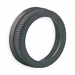 30mm No Switch Ring Nut, Black